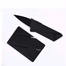 Credit Card Folding Stainless Steel Blade Wallet Knives Survival Camping Tool Tactical Mini Hand Pocket Knife