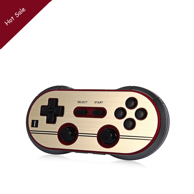где купить 8Bitdo F30 Pro Finger Spinner Wireless Bluetooth Gamepad Game Controller for Android Gamepad PC Mac Linux Retro Design по лучшей цене