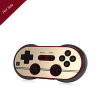 8Bitdo F30 Pro Finger Spinner Wireless Bluetooth Gamepad Game Controller for Android Gamepad PC Mac Linux Retro Design