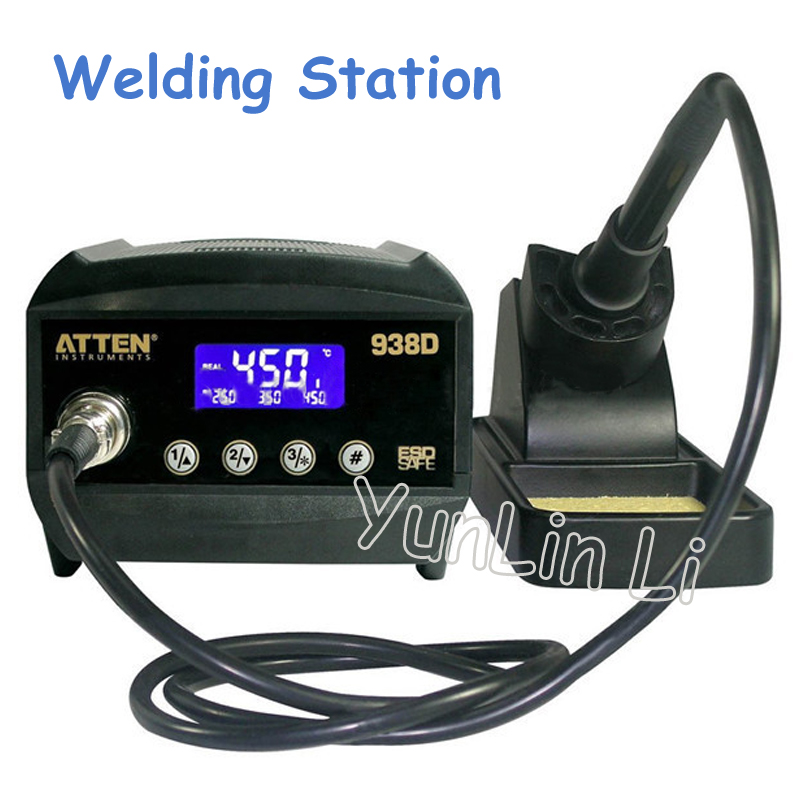 60W Welding Station Digital Anti-Static Soldering Station Thermo-Control Electric Soldering Irons with LCD Display тонер static control mpt5 10kg