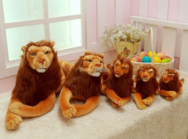 Fancytrader Rare Item! 49\'\' 125cm Emulational Plush Jumbo Soft Stuffed The Lion King Simba, Free Shipping FT50176 (5)
