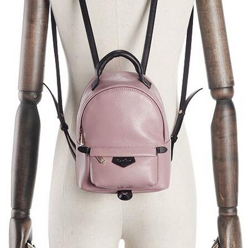 f3007b7fcc3f ZOOLER Genuine Leather Backpack Small Blue Pink Shoulder Bag Women Casual  Backpack Teenage Girls School Travel Bags High Quality-in Backpacks from  Luggage ...
