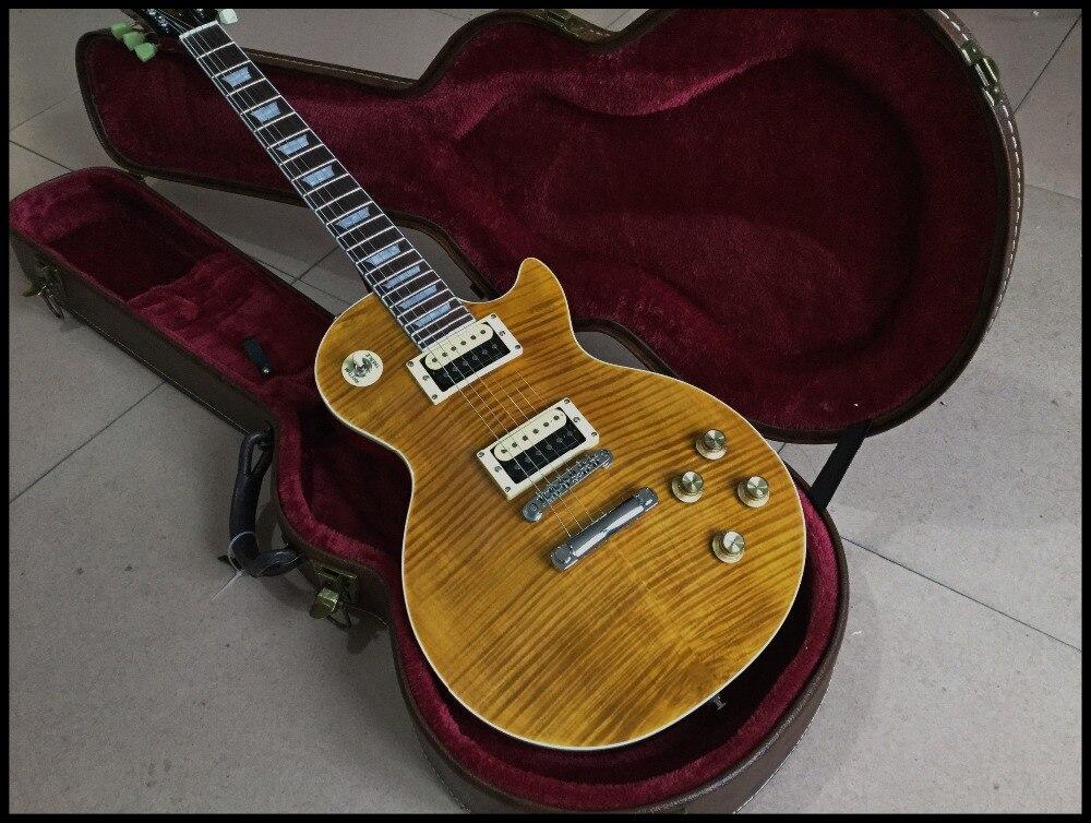 New standard custom retro relics Guitar,handmade electric guitar,maple fingerboard,Sunburst color gitaar.real photos