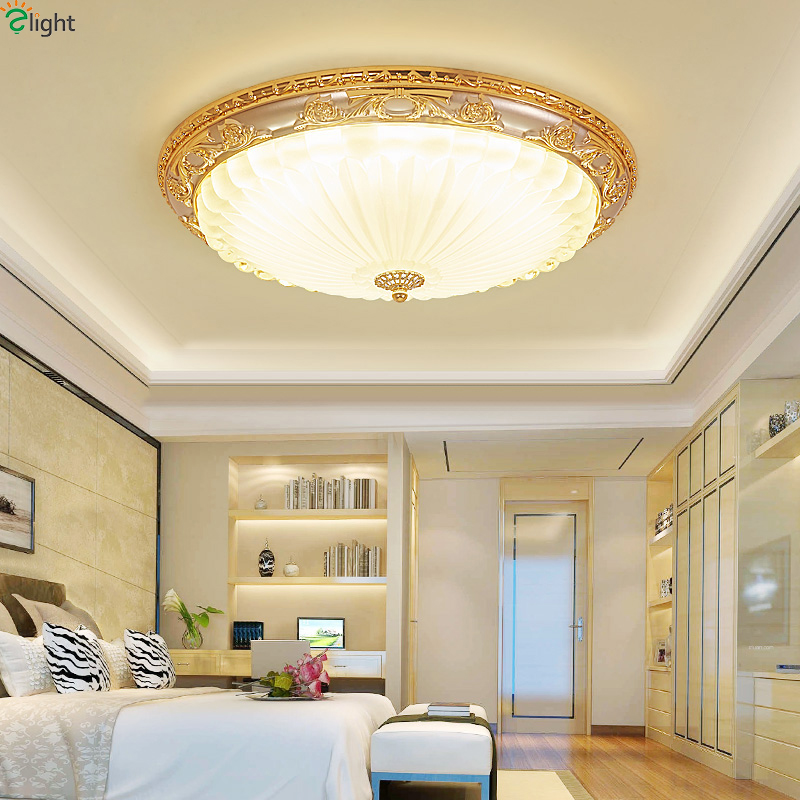 Europe Lustre Zinc Alloy Led Ceiling Lamp Glass Shades Dining Room Led Ceiling Lights Lampara Bedroom Led Ceiling Light Fixtures