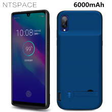 NTSPACE 6000mAh External Battery Charger Case For VIVO X23 Power Portable Bank Back Clamp Charging Cover