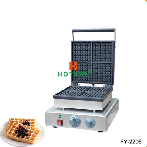 Commercial Nonstick 110V 220V Electric Belgian Brussels Liege Maker Iron Machine 110v 220v electric belgian liege waffle baker maker machine iron