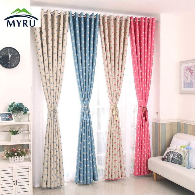 lunares panel de cortinas blackout nios cortina para sala de estar dormitorio para nios beb