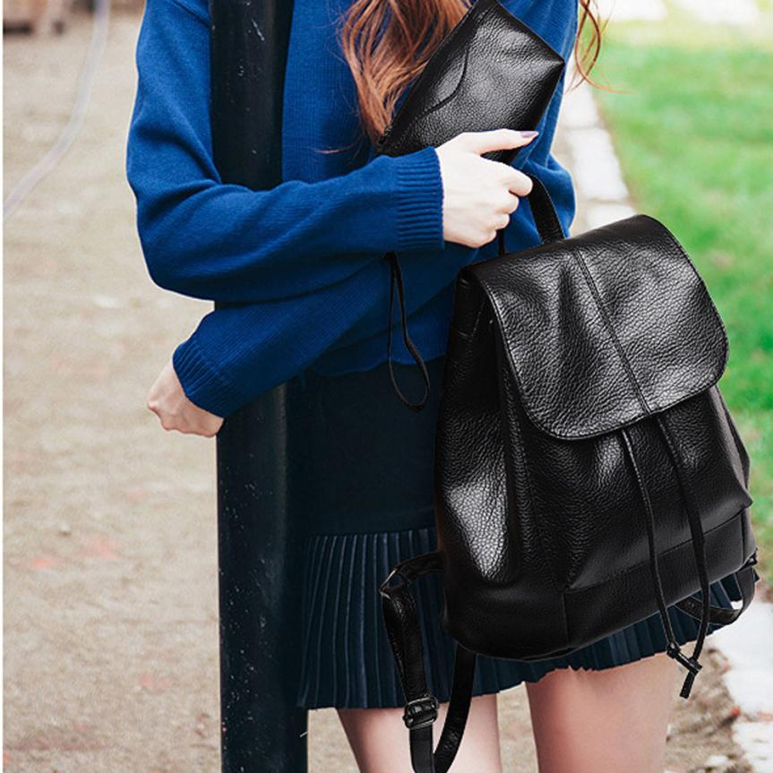 maison Backpacks high quality Three Sets Of Shoulder For Teenage Girl Backpacks Waterproof Travel backpack women 2018MA8