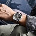 Мужские часы BENYAR  спортивные  водонепроницаемые  деловые  автоматические  механические  2019