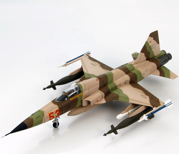 HM 1/72 HA3319 US Air Force F-5E Tiger fighter model Aggressor squadron Favorites Model force f 4173 5