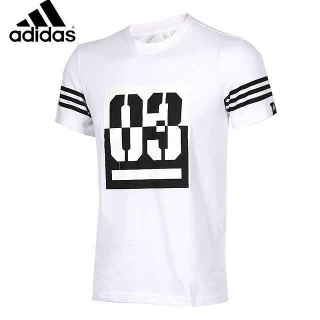 Adidas Original Nouvelle Arrivée Hommes À Manches Courtes T-shirt Respirant  À Séchage Rapide Pour