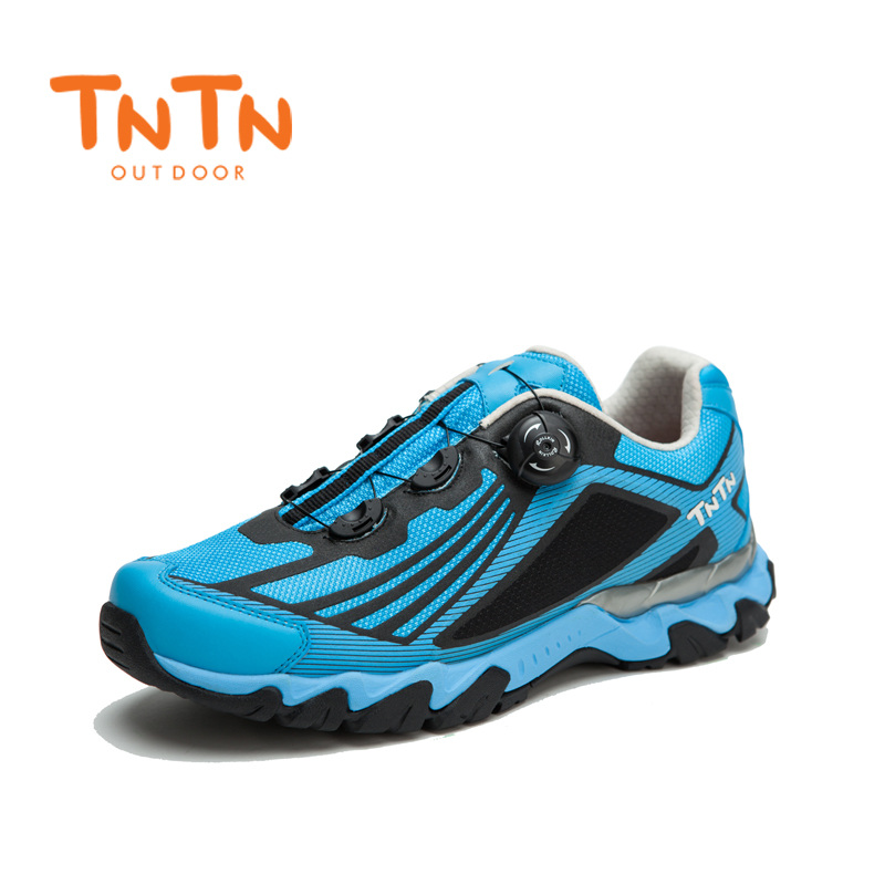 Mens Fast Button Windwire Breathable Shoes Hip Hop Sport 100% High Quality Comfortable Non Slip Trekking Mountain Walking