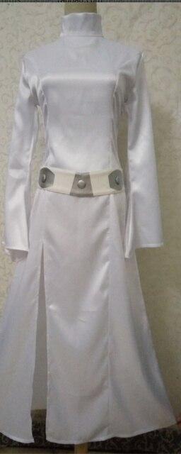 2016  STAR WARS Cosplay Alderaan Princess Leia Organa Solo Costume Adult Child Cosplay Dresses 1