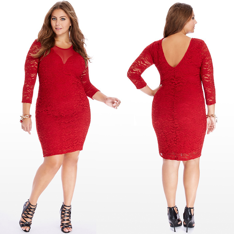 aliexpress buy plus size clothing casual lace