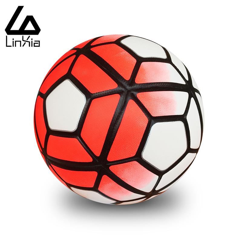 Prix pour Vente chaude 2017 de Football Ballon De Football Ballon De Football TPU Granulés antidérapants Taille 5 Match Trainning Balles