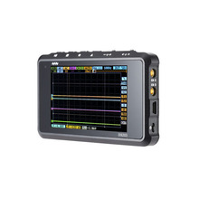 Мини DSO203 DS203 цифровой Осциллограф ARM Nano портативный 8 МГц пропускная способность 4 Каналов arm Cortex M3 ПРОЦЕССОРА с Алюминия Метр случае