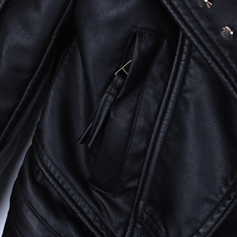 Rivets Mode 2017 Moto Spike Rock Faux Vestes Cuir Manteaux Courtes Automne Jc705 Clouté Noir Pu Veste De Femmes Printemps rAxEEXqI