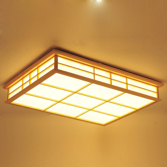 Japanese Tatami Led Ceiling Lamp Bedroom Ultra Thin: Aliexpress.com : Buy Rectangle Ceiling Lights Japanese