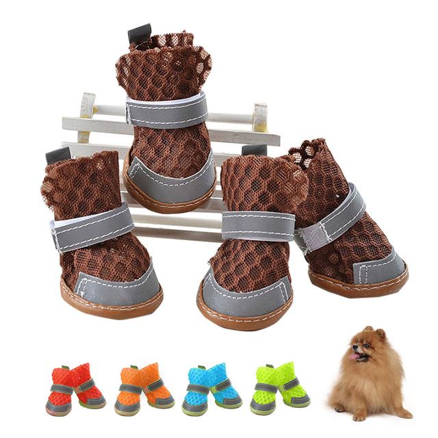 Us4 55 Puppy Slip For Candy 4pcs Sandals Small Anti 35OffBuy Dog Doggy Breathable Summer Dogs Shoes b6gY7Iymfv