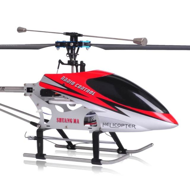 FREE SHIPPING Double Horse 9104 3.5CH Single Blade Co-Axial RC Remote Control 71CM big size helicopter DH9104 helicopter