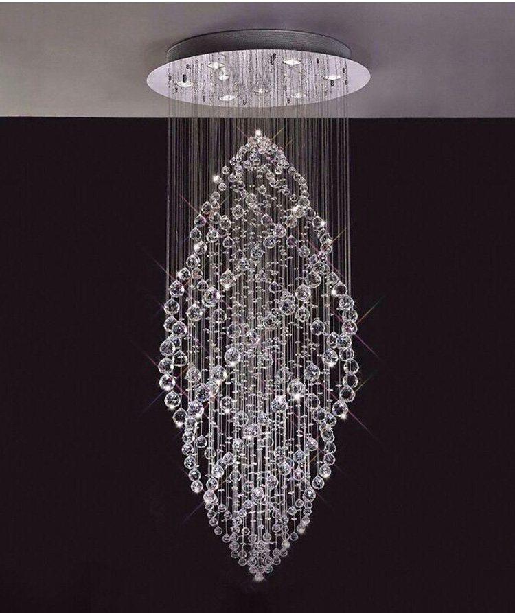 dining l chandelier simple chandeliers room modern lighting crystal light for design round