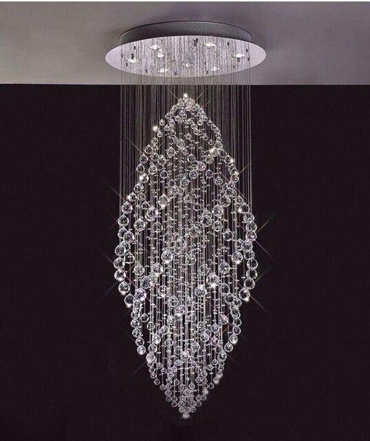 Crystal chandelier foyer chandelier lighting modern chandelier crystal chandelier foyer chandelier lighting modern chandelier guaranteed 100free shipping aloadofball Image collections