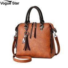 Crossbody Bags for Women 2019 Fashion Tassel Women Shoulder Bags Large Capacity Casual Leather Women Handbag