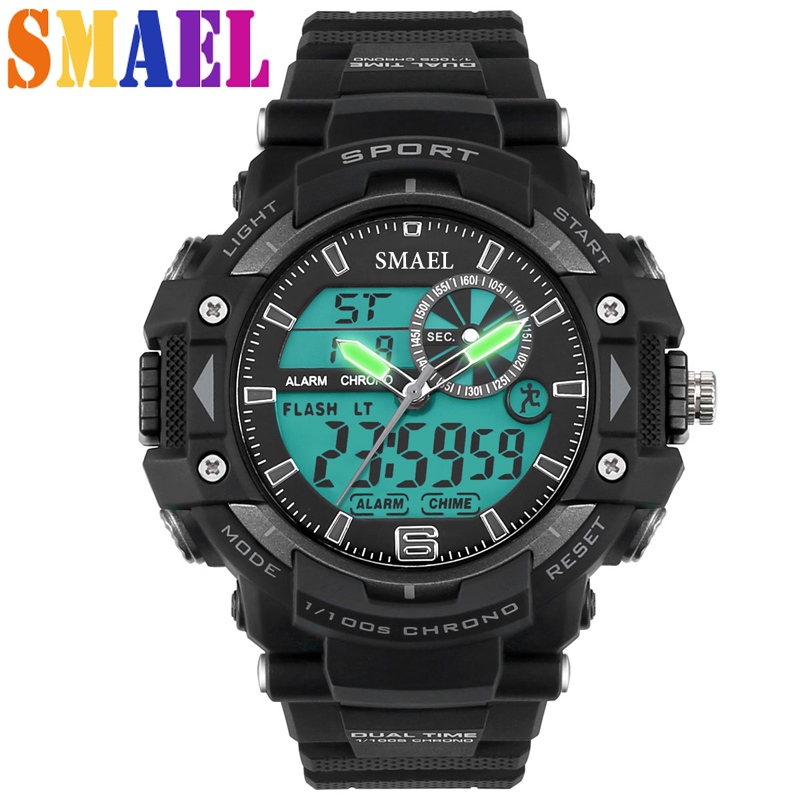 2016 New Fashion100m Waterproof Sport Watch Diving Swimming Men Sports Wrsitwatch Relogio Masculino Clock Men Sports