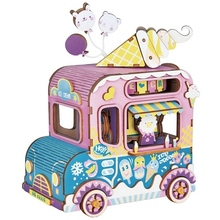 цены на Robotime Diy 3D Moving Flavor Wooden Puzzle Game Assembly Moveable Music Box Toy Gift For Children Kids Adult AMD61  в интернет-магазинах