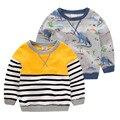 The boy long sleeved sweater jumper 2016 autumn spring new children baby coat tide U4082