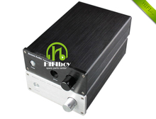 HIFIBOY aluminum chassis A1 headphone amplifier small aluminum case 1706 (external size: W170mm H70mm D261mm )