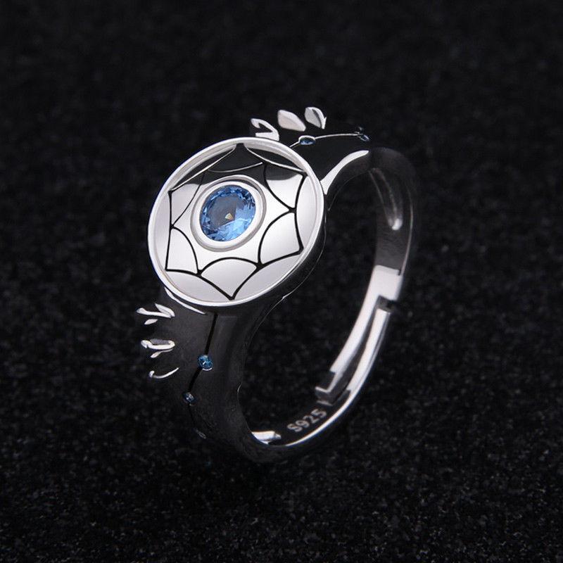 New Anime Saint Seiya Shiryu Ring Cosplay Ring Jewelry S925 Ring Gift US Size 7