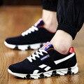 2016 Новые Мужчины Женщины Прогулки Открытый Воздуха Дышащий Спорт Мода Классический Тренер Размер Обуви 39-44 плоские туфли случайные обувь