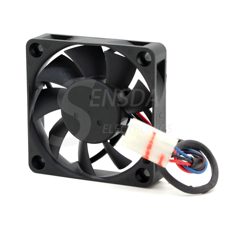 Купить с кэшбэком Original Delta AFB0612MC 6CM 60mm 6015 0.17A Dual Ball line CPU cooling fan 60x60x15mm dc 12v fan