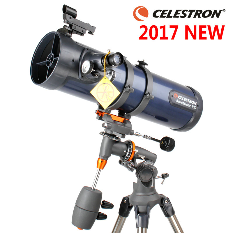 2017 NEW AstroMaster 130EQ Reflector Astronomical Telescope Professional High-Power High-Definition
