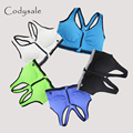 Codysale Fashion Shirt Women Casual Bra Zipped Padded Shockproof Bras Leisure Fitness Exercise Seamless Bra Clothing Plus Size