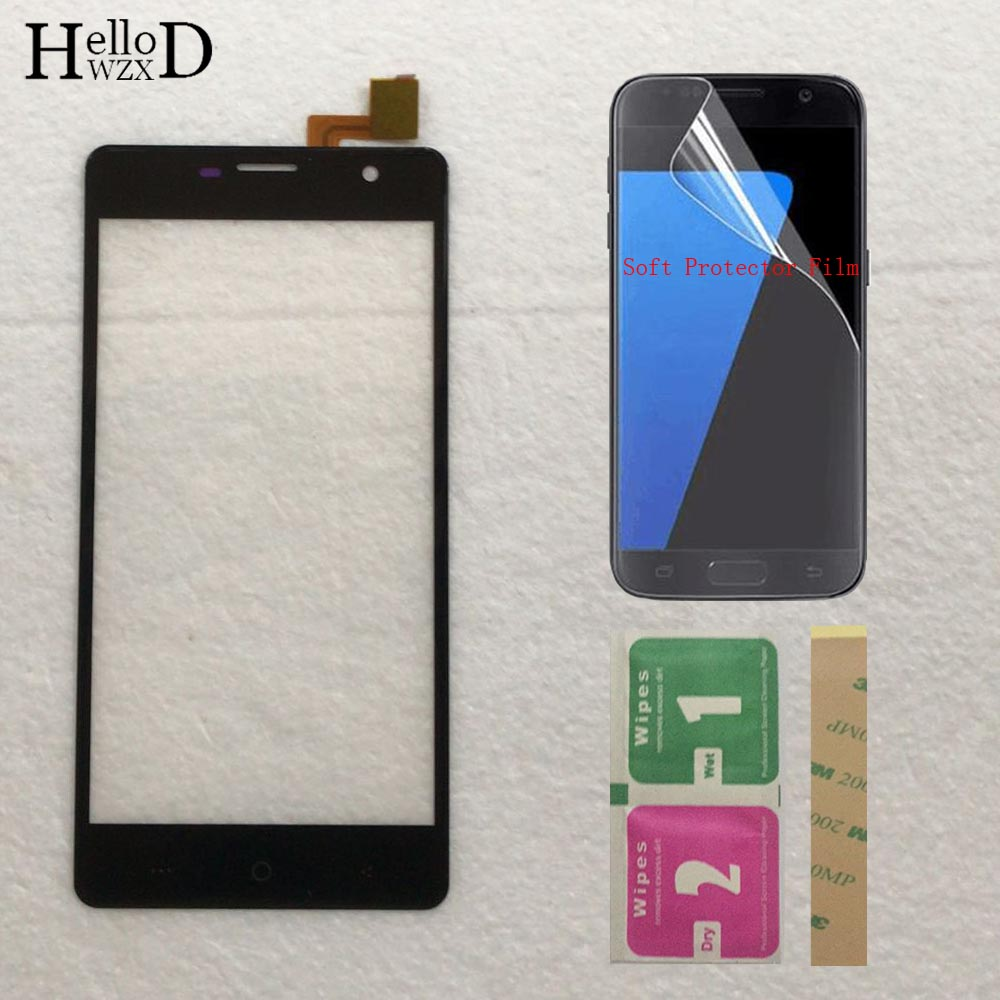 5inch Touch Screen Panel For DEXP Ixion ES950 Touch Screen Front Glass Digitizer Panel Lens Sensor Assembly + Protector Film