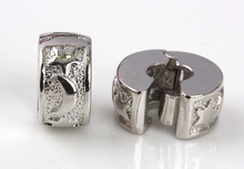 free shipping 1pc silver star and moon clip heart stopper bead charm Fits European Pandora Charm Bracelets A156(2)