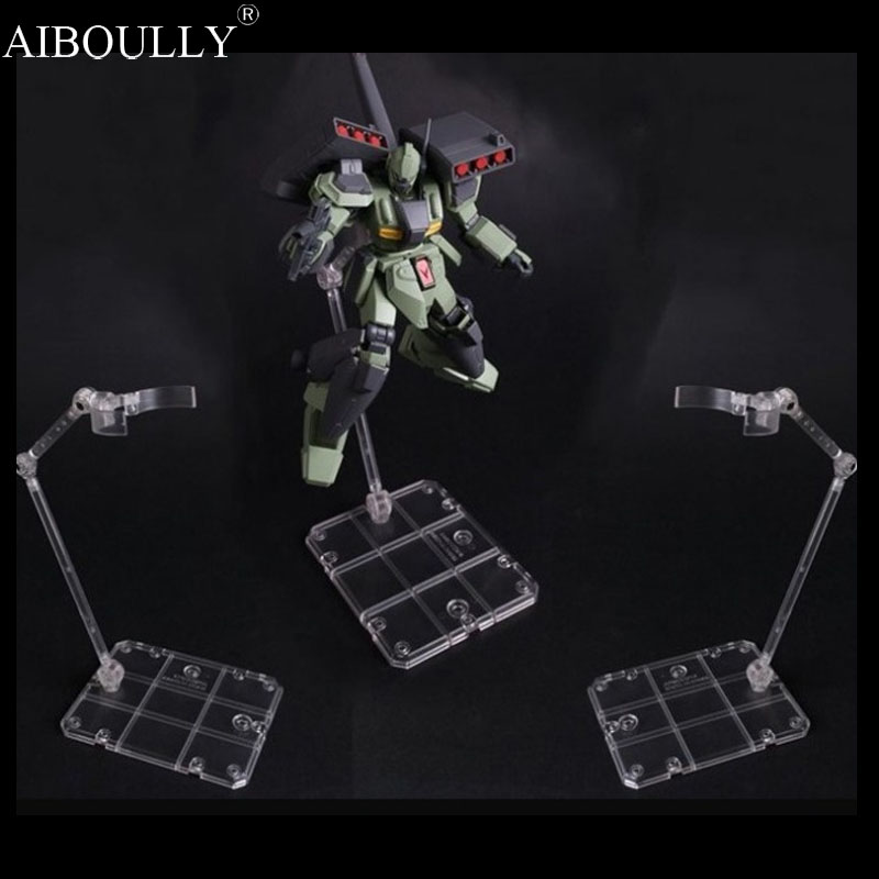 High Quality Action Base Suitable Display Stand For 1/144 HG/RG Gundam/Figure Animation Cinema Game ACG Game Toy new 2 pcs black japanese metal alloy long katana sumurai blade accessorie for 1 144 hg rg mg unicorn gundam action figure toys