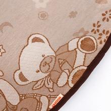 Breathable Bear Print Mat