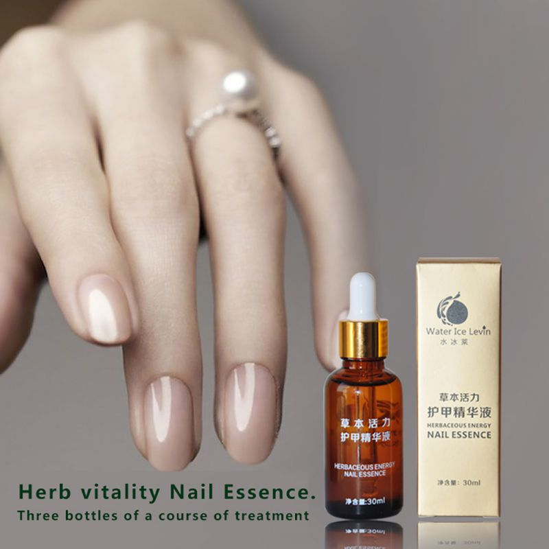 30ML Nail Care Essence Liquid Cuticle Oil Anti Fungal Infection ...