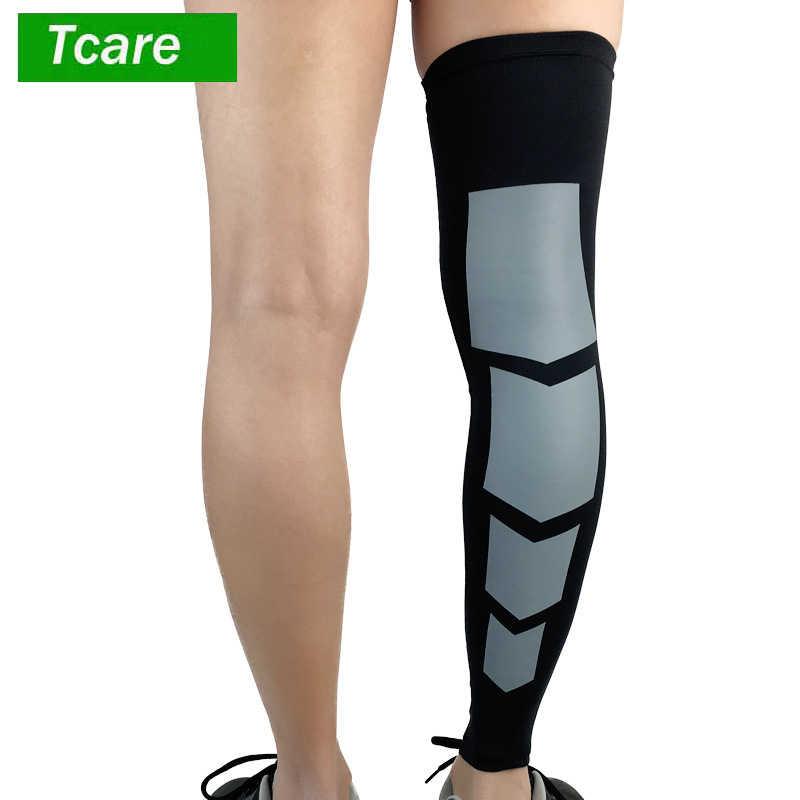 c543db7fb74626 1Pcs Leg Srpport Recovery Compression Leg Sleeves - sport Football  Basketball Cycling Strech Leg Knee Long