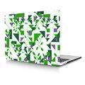 """Зеленый Геометрический Ноутбук Тела Shell Защитный Футляр для 2016 Новый Macbook Pro 13 """"A1708 Retina 15"""" A1707 w/без Сенсорной Панели"""