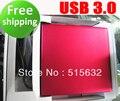 12.7mm SATA USB 3.0 super slim Drive USB ranura externa en caja de CD DVD caso