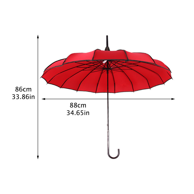 Image 2 - Tower Pagoda Umbrella For Women long Handle Gothic Classical Parasol Creative Tower Pagoda Windproof Sunny And Rain Umbrellas-in Umbrellas from Home & Garden