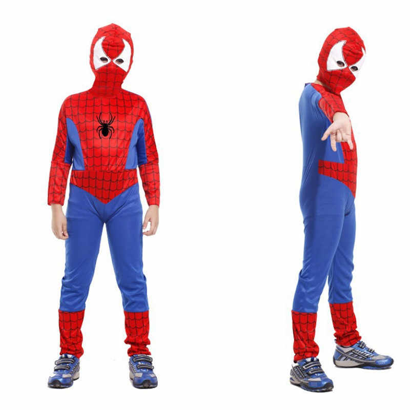95f169135812 ... Carnival Christmas Purim parade Masquerade. RELATED PRODUCTS. M-XL Children  Halloween Costume Boys Kids spider-man Cosplay Fantasia Super hero Role