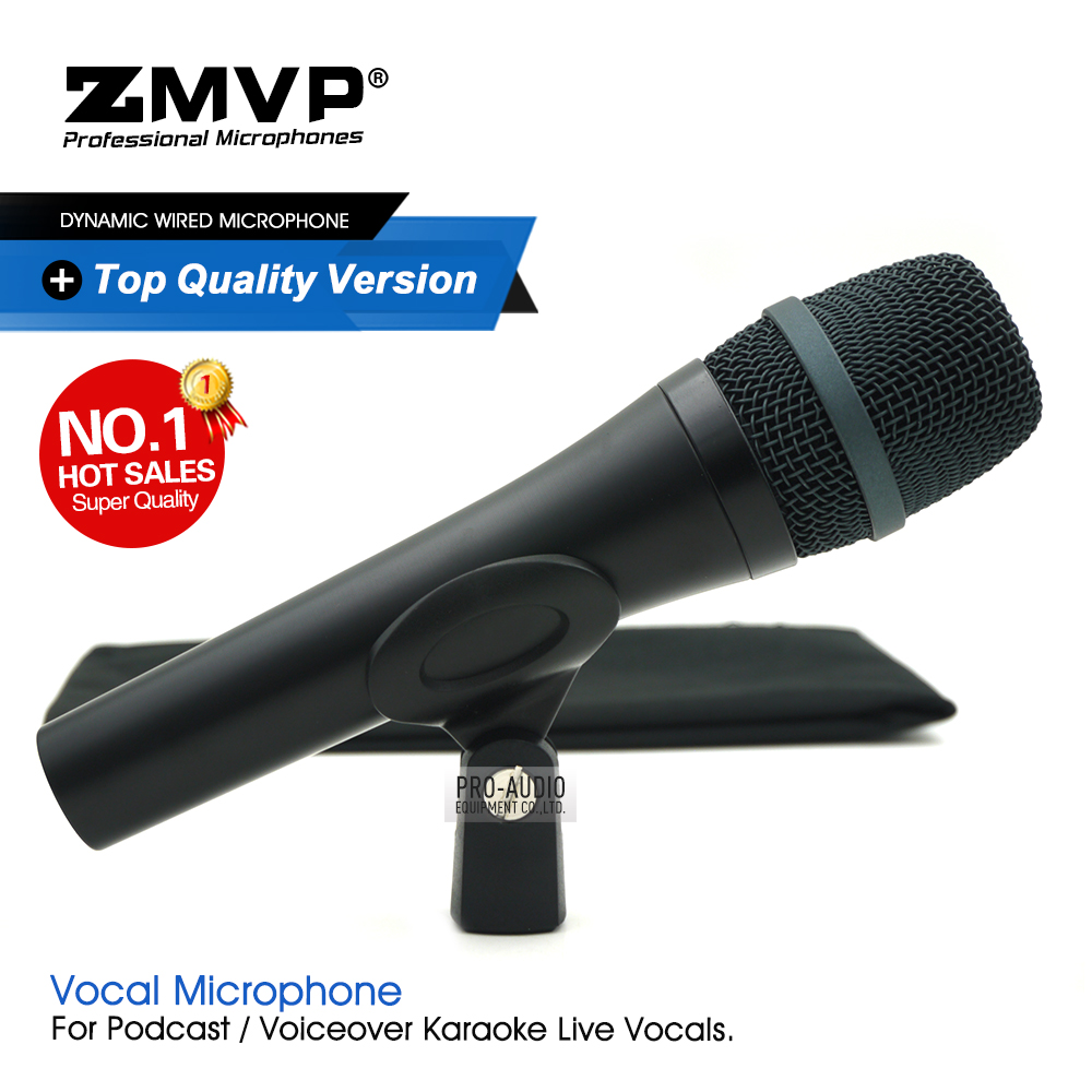 Top Quality 945 Professional Live Vocals Wired Microphone 945T Karaoke Super-Cardioid Dynamic Microfone Microfono Mike Mic