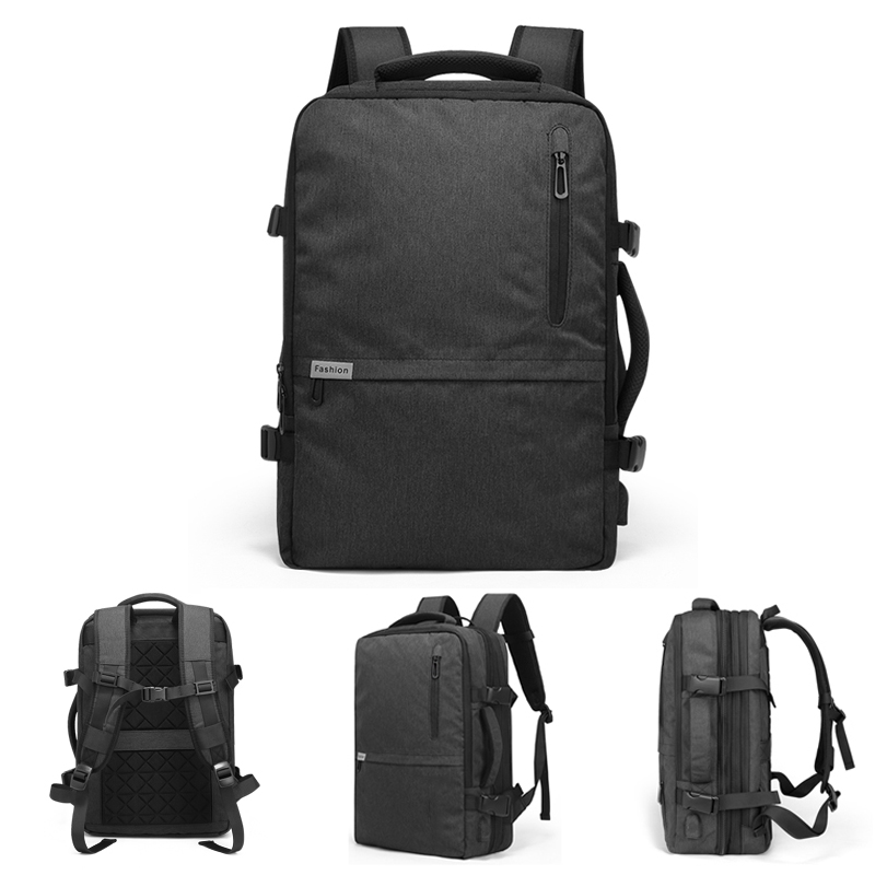 17 15.6 Inch Laptop Backpack Bag For Men Women 40L Male Notebook USB Bagpack Large Outdoor Travel Business Anti Theft Backpacks