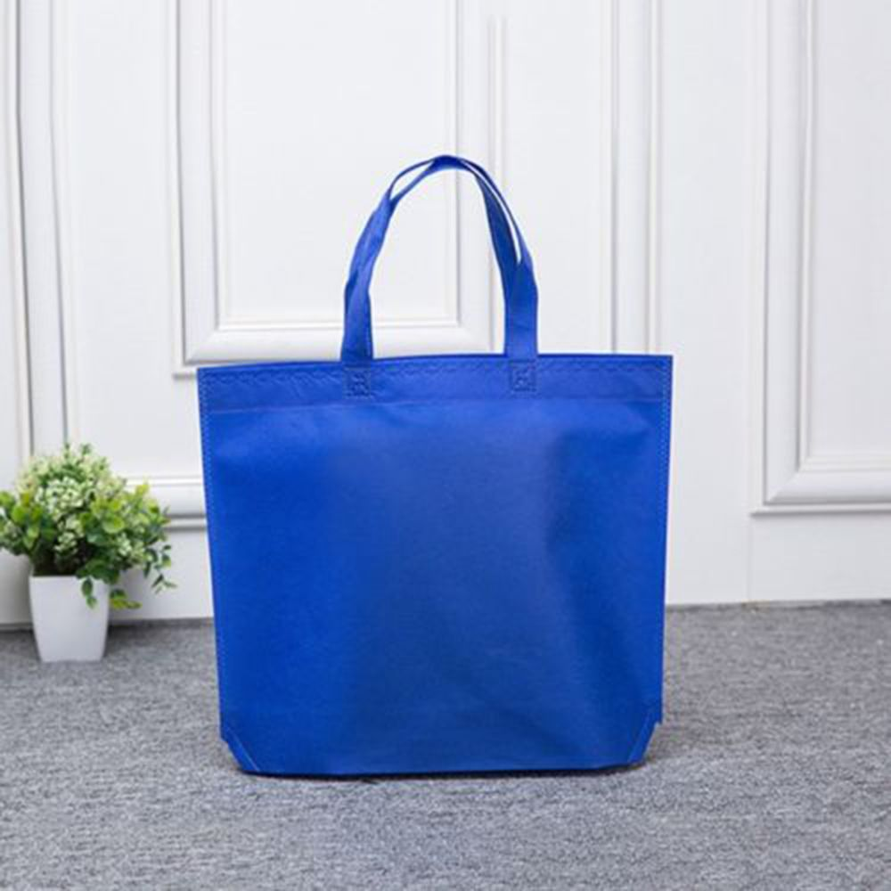 Image 3 - Women Foldable Nonwoven Shopping Bag Reusable Unisex Tote Shoulder Bag Grocery Storage Handbag Eco Shoppers Pouch Storage Bag-in Bags & Baskets from Home & Garden