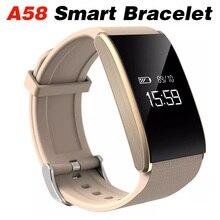 Купить с кэшбэком Smart Bracelet Men Smart Watch Android IOS Heart Rate Blood Pressure Wristband Phone Call SMS Sport Smartwatch Watches Band 2